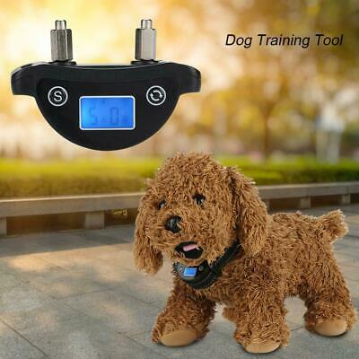 Rechargeable LCD Screen Automatic Anti Bark No Barking Shock Dog Training Collar