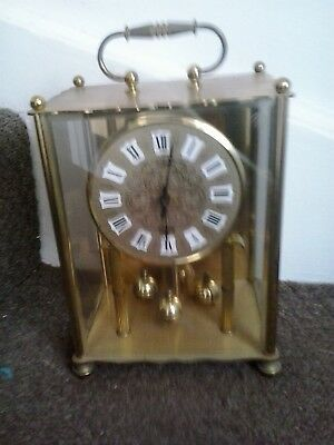 Koma German  400 Day Anniversary clock, Good working condition.