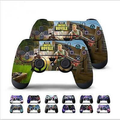 Fortnite Battle Ps4 Game Console Controller Wrap Skin