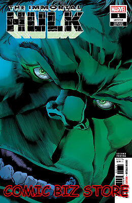 Immortal Hulk #1 (2018) 3Rd Printing Bennet Variant Cover Marvel Comics