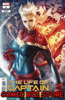 Life Of Captain Marvel #1 (Of 5) (2018) 2Nd Printing Artgerm Variant Cover