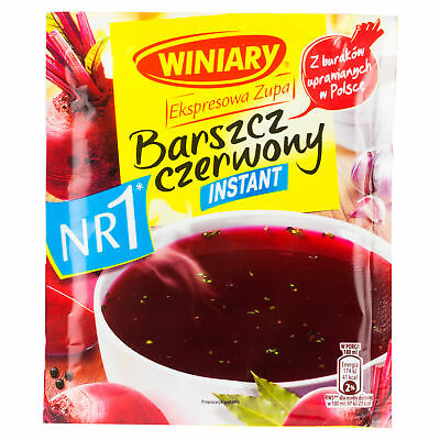 (2,78€/1l) Winiary Rote Rübensuppe Instant 60g Suppen – Fonds