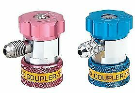 Quick Coupler Adapter  AC  Set of 2 High/Low AC R134A  R410