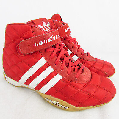 bas prix d2a99 8ef72 ADIDAS MONACO GP Goodyear Trainers UK 5.5 US 7 EU 38 2/3 Racing Kart  Driving Red