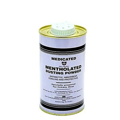 Medicated Mentholated Dusting powder by Cussons / dusting powder