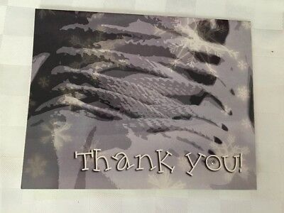 BRAND NEW Ice / Figure Skating Thank You Card