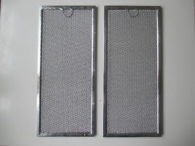 """2 Filters Samsung Microwave Grease Filter  AF4318 - 5 7/8"""" x 13 3/8"""" x 3/32"""""""