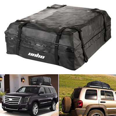UNHO Waterproof Roof Top Carrier Cargo Luggage Travel Bag 15 Cubic Feet UK