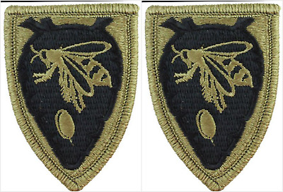 2 Pack US Army North Carolina National Guard HQ OCP Hook Back Military Patches