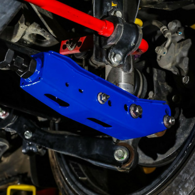 BLOX RACING REAR LOWER CONTROL ARM FOR FR-S//BRZ//OUTBACK 10-14//WRX 08-18 BLUE
