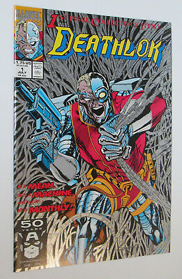 DEATHLOK #1 July 1991 1st Issue! Marvel Comics VF+ to NM Condition