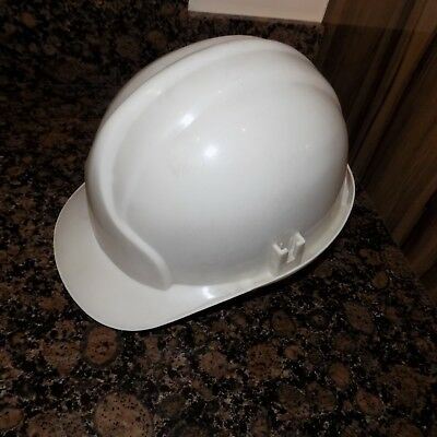 Industrial Safety Helmet White Type 1 Used