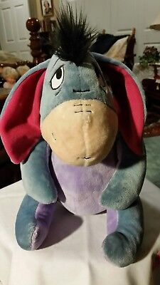 "Kohls Cares For Kids Disney Eeyore Plush Donkey 12"" Stuffed Animal Winnie Pooh"