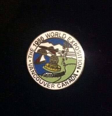 1986 World Exposition Vancouver Canada BC Enamel Pin
