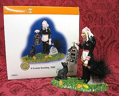 Department 56 Halloween~A Gravely Haunting 2008