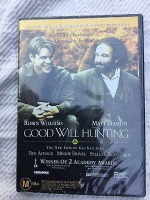 Good Will Hunting (Robin Williams) DVD - BRAND NEW And Sealed   -(Region 4)