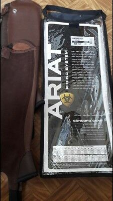 ariat concord chaps XSM Brown