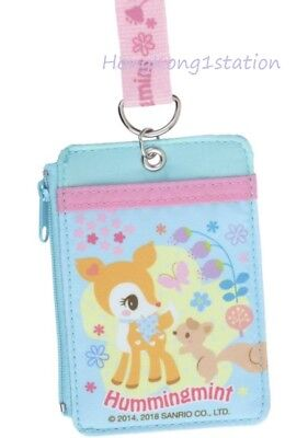 f5857a786 Sanrio Hummingmint Stars Coin Purse ID Credit Cards Badge Pass Case Holder  Bag