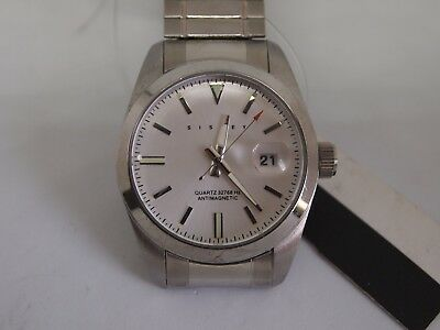 Sisley Paris 'Ostrea' - Stainless Steel watch  New Old Stock HUGE CLEARANCE SALE