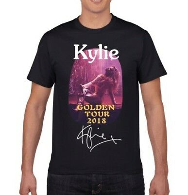 KYLIE GOLDEN TOUR T-SHIRT uk Supplier ORDER YOURS NOW! SIZE L  now £17.99
