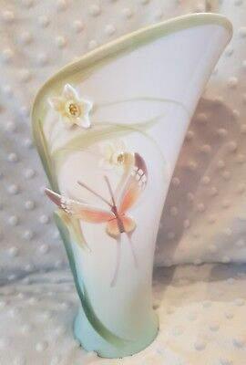 Franz Collection Butterfly Vase
