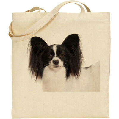 CS Landseer dog breed cotton shopping//shoulder//beach//tote bag reusable gift