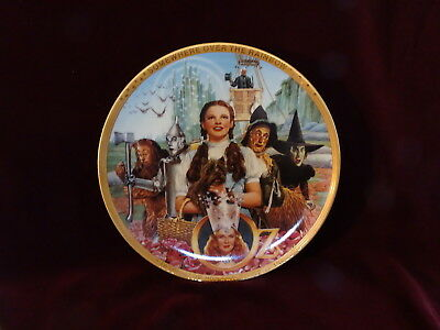 Vintage 1989 Fifty 50 Years of Oz Plate, The Hamilton Collection, Wizard of Oz