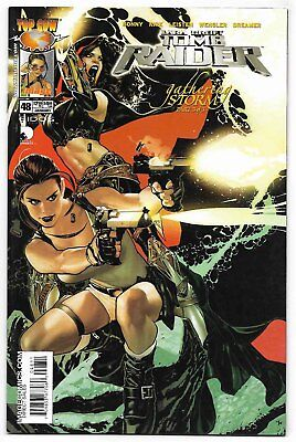 Tomb Raider #48 (Jan 2005, Image Comics) Magdalena Story Ends Adam Hughes Cover