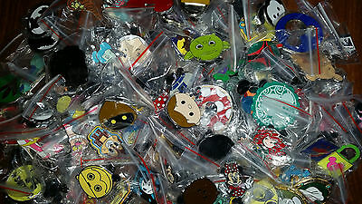 50 DISNEY trading PIN lot Hidden Mickey Booster MIXED Fast Free US SHIPPING