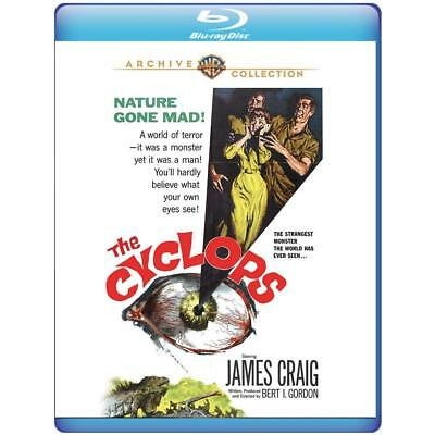 PREORDER: THE CYCLOPS  -  BLU RAY - Sealed Region free for UK