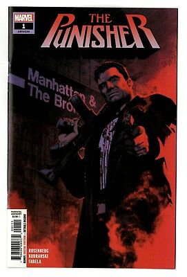 The Punisher #1 (2018) Marvel NM/NM-
