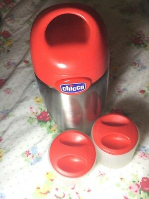 Chicco Flask with 2 food tubs
