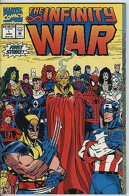 Infinity War Issue 1 From 1992 Epic Marvel Mini series With Thanos & Warlock