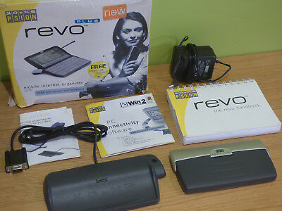 Psion Revo 16mb Palmtop Computer + PsiWin 2 + Docking Station + Charger