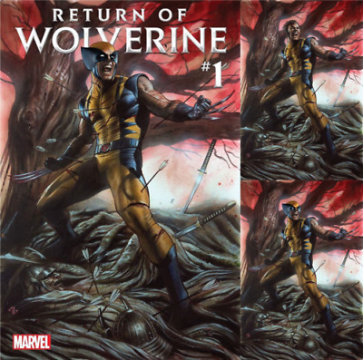 Marvel Return of Wolverine #1 Variant 3 Pack Set Cover A B C Adi Granov Pre-Sale