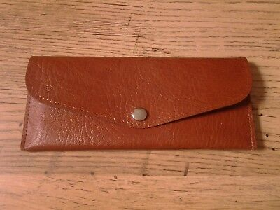 Vintage Vinyl Cheque Book Holder , By Hilmar of Manchester ,  Made In England