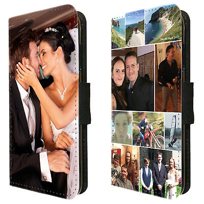 Personalised Photo Wallet Flip Phone Case cover Huawei P20 P30 Mate 20 Pro Lite