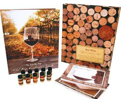 Wine Appreciation Kit Includes 10 bottles