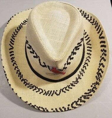 NEW ST.LOUIS CARDINALS Cowboy Hat SGA 7 13 Kenny Chesney Style ... f9b493d6f6e0