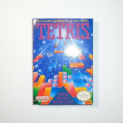 Tetris NES Game CIB Complete in Box w/ Manual Nintendo Entertainment System 1989