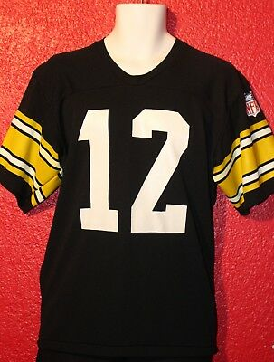 vtg PITTSBURGH STEELERS original TERRY BRADSHAW JERSEY 70s 80s RAWLINGS L shirt