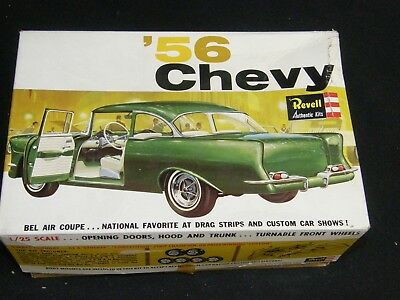 Revell Original Vintage 1956 Chevy Bel Air Coupe Junk Yard Parts Incomplete