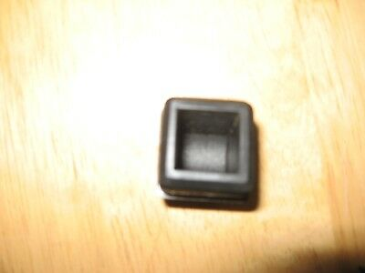 "1"" ABS Plastic Square Tube steel Endcaps Feet- LOT"