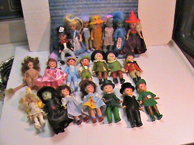 FREE SHIPPING (CAN-USA) Madame Alexander Lot of 21 Different Dolls