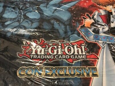 SDCC Comic Con Seto Kaiba Playmat Sealed Yugioh OBELISK THE TORMENTOR