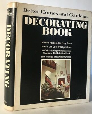 Vintage Better Homes and Gardens DECORATING BOOK 1975 Modern Interior Design