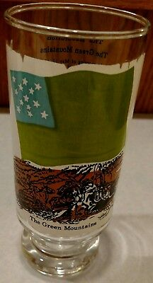 Vintage 1973 Coca Cola The Green Mountains Heritage Series Drinking Glass Coke