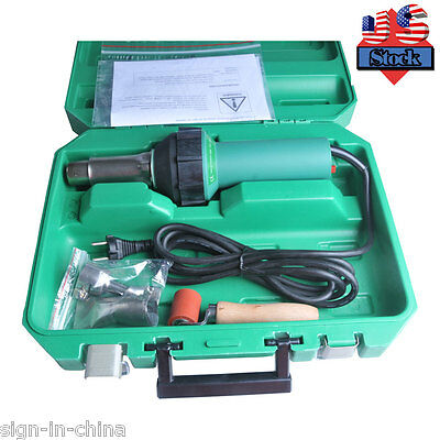 110V Easy Grip HandHeld Plastic Hot Air Welding Gun PVC Flex Banner USA STOCK !!