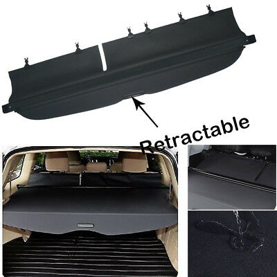 For 09-13 SubAru Forester manual Door Tonneau Cargo Cover Security Trunk Shield