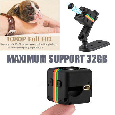 1080P HD Mini Voiture Espion Hidden DVR Caméra Recorder Dash Cam Night Vision